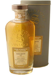 North British Single Grain 1997, Cask Strength Signatory 54,5 %