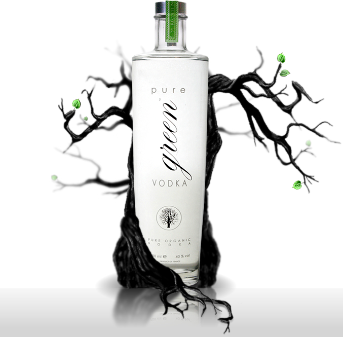 Pure Green Organic Vodka