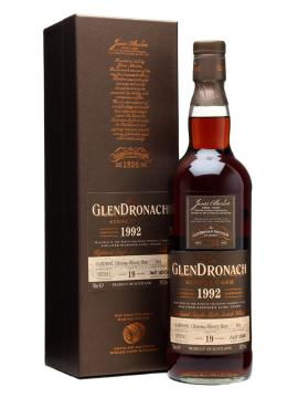 GlenDronach 1992, 19 Years Old - Sherry Cask - 59,2% C161 Udsolgt/ Sold Out!