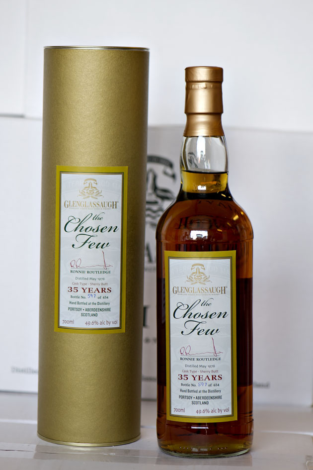 Glenglassaugh Chosen Few – 33 years – 46,3%