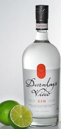 Darnley's View London Dry Gin.