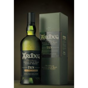Ardbeg 10 år Islay Single Malt.