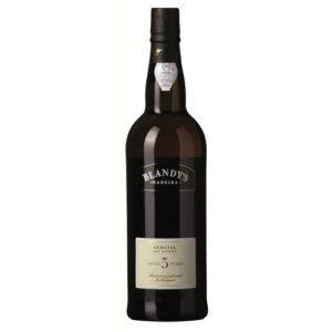Blandy's 5 års Sercial Madeira.