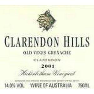 Clarendon Old vine Grenache 2001