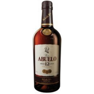 Abuelo 12 års Gran Reserva Rum. 70 cl.