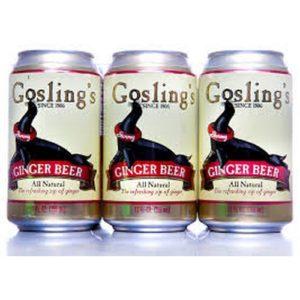 Gosling Ginger Beer 33cl.