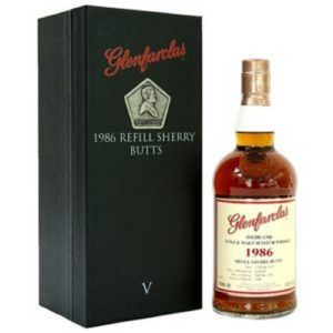 Glenfarclas 1986 Refill Sherry Butts Family Collection V