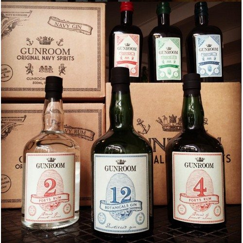 Gunroom 12 Botanicals Gin 40%