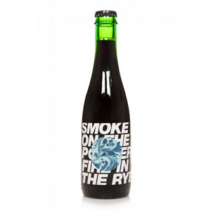 Smoke on the Porter fire in the Rye! 13