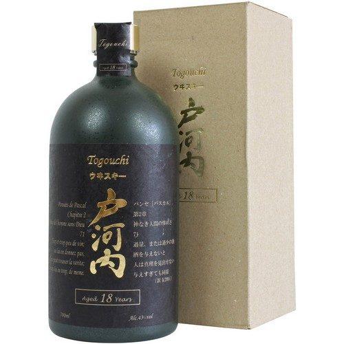 Togouchi 18 års Japansk Blended Whisky 43%