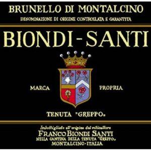 Biondi Santi Greppo Brunello 1999