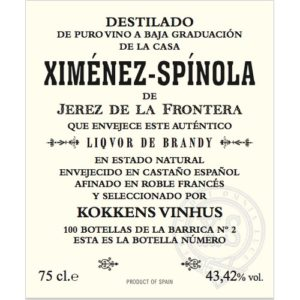 Ximenez-Spinola Kokkens Vinhus 43