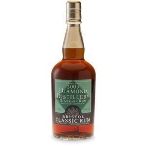 Bristol Spirits Diamond Dis. 2003 Demerara Rum 43%