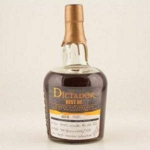 Dictador Rum The Best of 1981 43
