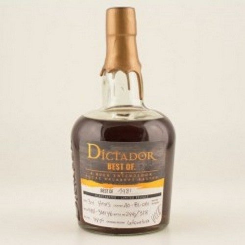Dictador Rum The Best of 1981 43