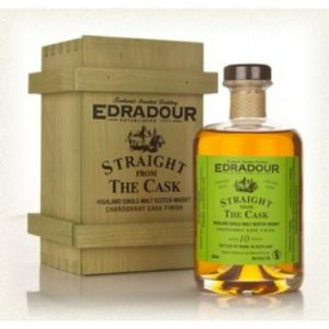 Edradour 11 år Straight from cask 50 cl Burgundy Finish 58