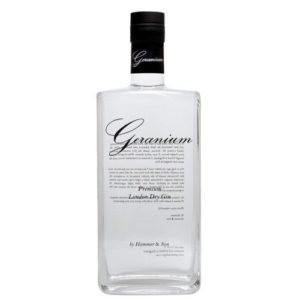 Geranium + 4 Fentiman's Tonic Water.