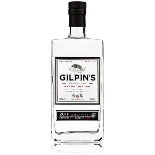Gilpin´s Extra dry gin 47%