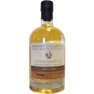 "Glen Scotia 18 års 1992 ""Embassy collection"""