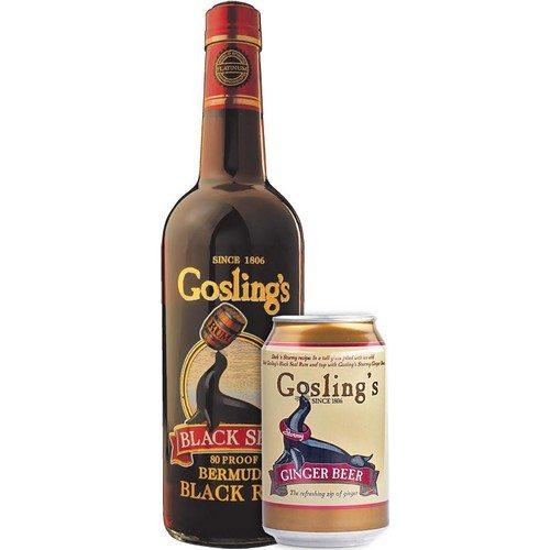 Gosling Black Seal + 6 Gosling Ginger Beer