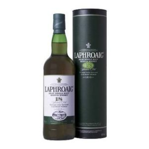 Laphroaig 18 years old malt