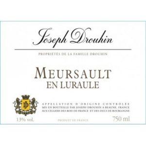 Joseph Drouhin Meursault En Luraule 2015