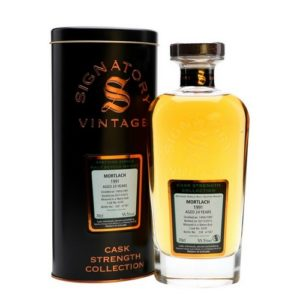 Mortlach Signatory Cask Strength 1991 24 Years