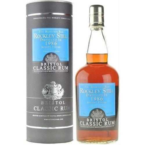 Bristol Classic Rum Rockley Still 1986 Vintage 46%