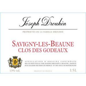 """Joseph Drouhin Savigny les Beaune """"Clos des Godeaux"""" 2014"""
