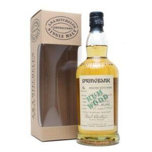 Springbank 16y. Rum Wood